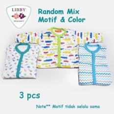 Harga Libby Premium Sleepsuit Boy Jumper Panjang Tutup Kaki Isi 3 Pcs 3 Months Termahal