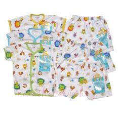 Spesifikasi Libby Set Baju Pendek Dan Celana Pendek 3Setel Beserta Harganya