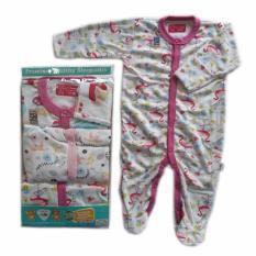 Libby Sleepsuit 3 6M G*rl Diskon Akhir Tahun