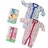 Libbysleepsuit Premium 3 In1 Sleepsuit Bayi Jumpsuit Girls 3 6 Bln Indonesia
