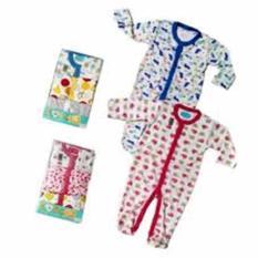 Beli Libbysleepsuit Premium 3 In1 Sleepsuit Bayi Jumpsuit Girls 6 9 Bln Online