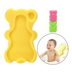 Liebao Comfy Bath Sponge untuk Bayi Bayi Anti Selip Bukti, Ibu Penolong Yang Hebat, Warna Secara Acak-Intl