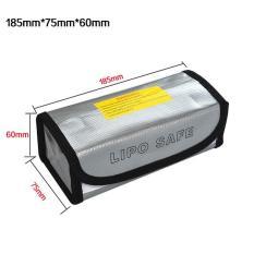 Lipo Battery Fireproof Safe Guard  185*75*60Mm Dji Syma Eachine - A9B536 - Original Asli