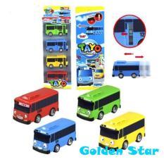 Toko Little Bus Tayo Driving Game 4 In 1 Pull Back Car Play Set Mainan Anak Mobil Bis Karakter Tayo Rogi Lani Gani Online