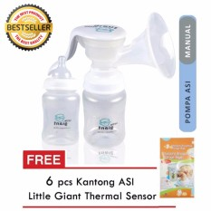 Little Giant Pompa Asi Manual - Little Giant Emily Manual Breast Pump (Gratis 6 Buah Kantong Asip)