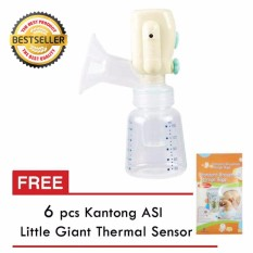 Cuci Gudang Little Giant Pompa Elektrik Mini Electric Breast Pump Lg 6897 Gratis 6 Buah Kantong Asip