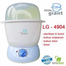 Little Giant Sterilizer Multi Fungsi - Little Giant Deluxe Multi FUnction Sterilizer and Steam Station Model LG4904