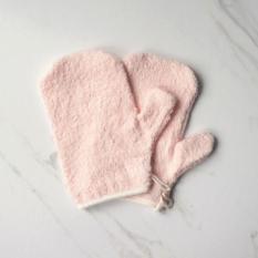 Little Palmerhaus Mason Wash Mitt 2 Pack - Pink