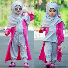 long cardi anak l baju muslim surabaya l gisela