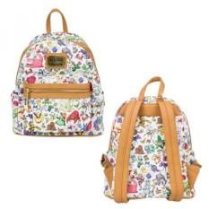 Loungefly Pokemon Multi Character AOP Mini Backpack - intl