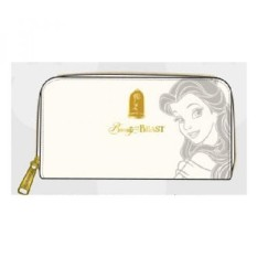 Loungefly x Beauty and the Beast Belle Embossed Charm Wallet - intl