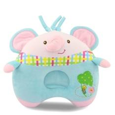 Lovely Baby Plush Animal Sleep Pillow Soft Leher Perlindungan Dukungan Kepala Gajah Baru Bantal Perawatan 21.5 Cm-Intl
