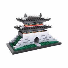 Loz Mini Block 1009 Sungnyemun Gate Korea