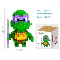 Loz Nano Blocks Tmnt Donatello - Pluvtm