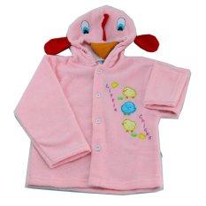 Jual Lucky Angel Momo Baby Mantel Topi Kepala Gambar Pink Size L Jaket Handuk Bayi Pink Lucky Angel Murah