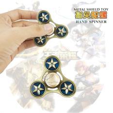 Lucky - Fidget Spinner Hand Spinner Overwatch Dragon Monkey King Pirate Sword Naruto Bat-Man Fan Shield Metal Hand Toys Focus Games / Mainan Spiner Tangan ...