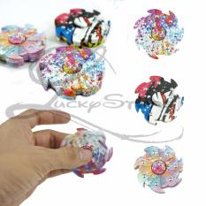 Lucky Hand Fidget Spinner Whirlwind Spiner Tornado Rainbow Abstrak Hand Toys Focus Games / Mainan Spiner