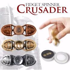 Lucky - Tiger Crusader Knight Shield Tameng Perisai Ceramic Hybrid Fidget Spinner Hand Spinner Hand