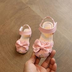 Jual Lucu Perempuan Musim Panas Gadis Korea Putri Sepatu Bayi Sandal Import