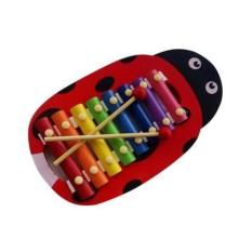 lumbalumbi Edukasi - Jual Mainan Edukasi - Kulintang Kayu Kepik - Warna RANDOM