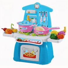 Ulasan Lumi Toys Kitchen Set Chair Bangku Mainan Masak Masakan