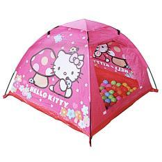 Lumi Toys Mainan Tenda Anak Hello Kitty Camp