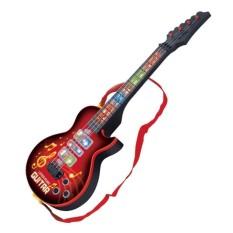 Lumiparty Anak Musik Gitar Creative Akustik Bas Induksi Inframerah LED Kartun Instrumen Pendidikan-Internasional