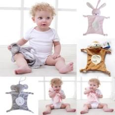 Lunar Valley 4 Jenis Terbaru Bayi Nyaman Mainan Mewah Bayi Selimut Mainan Soothing Handuk untuk Perawatan Bayi-Putih- panda-Internasional