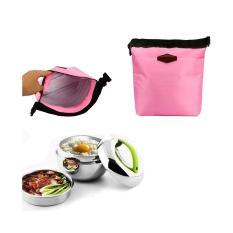 Lunch Bag Cooler Bag Tas Bekal Makan atau Tas ASI