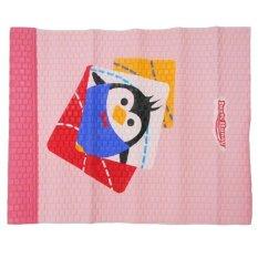 Diskon Lusty Bunny Perlak Bayi Motif Pinguin Merah Muda 55Cm X 80Cm Akhir Tahun