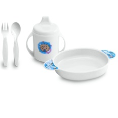 Lusty Bunny Tempat Makan Bayi Plate Set Code Lb-1331 Peralatan Makan Bayi By Bunny.