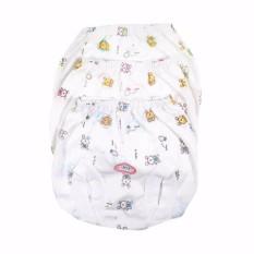 Luvita GROSIR Celana Pop MOTIF - Celana Bawahan Bayi Pendek By Luvita - 6 pc