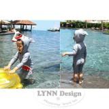 Harga Lynn Design Baju Renang Baby Shark Anak Baby Shark Swimsuit Best Online