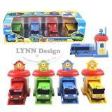 Toko Lynn Design Mainan Anak Bus Tayo 4 Pcs 1 Set Pintu Bisa Sliding North Sumatra
