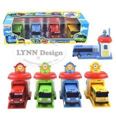 Jual Lynn Design Mainan Anak Bus Tayo 4 Pcs 1 Set Pintu Bisa Sliding Tayo Bus Asli