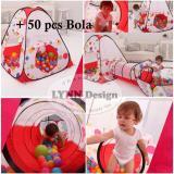 Spesifikasi Lynn Design Tenda Terowongan 50 Pcs Bola Keranjang Mandi Bola Anak Best
