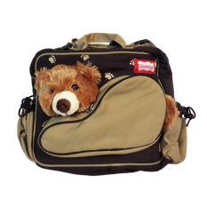 Lynx Candy Tas Bayi Besar Dialogue Baby Bag Bear Jumbo - Coklat tua