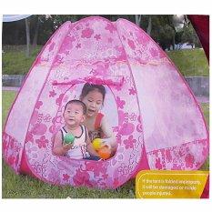 Lynx Tenda Bermain Anak Play Tent Foldable Pop Up House Balls Pool For Kids Indoor And Outdoor Princess Flower Promo Beli 1 Gratis 1