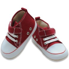 Katalog M And M Baby Shoes Maroon M And M Terbaru