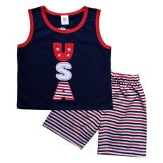 MacBear Kids Baju Anak Setelan Singlet USA
