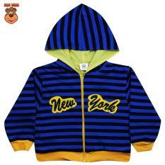 Rp 62.671 MacBear Kids Jaket Anak Hoodie Stripe ...