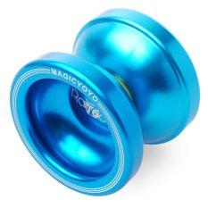 Magic Yoyo T6 Rainbow Yoyo Ball Clutch Trick Alloy Biru