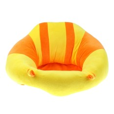 MagiDeal Kids Baby Support Seat Sit Up Soft Chair Cushion Sofa Plush Pillow Toy Yellow - intl
