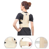 Jual Postur Magnet Back Shoulder Corrector Support Brace Belt Therapy Adjustable Ukuran M Import
