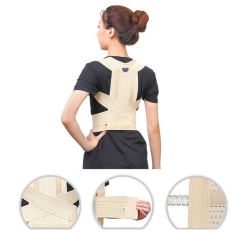 Harga Magnetic Therapy Posture Corrector Body Back Pain Belt Brace Shoulder Support Size M Intl Original