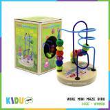 Jual Beli Maina Edukasi Anak Wire Mini Maze Biru Kidu Toys