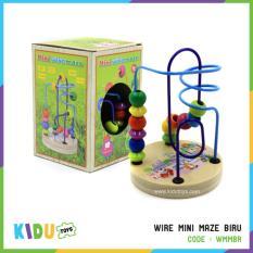 Harga Maina Edukasi Anak Wire Mini Maze Biru Kidu Toys Origin