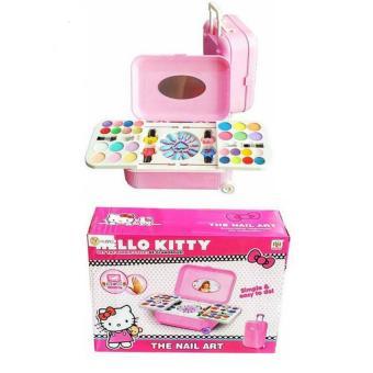 Pencarian Termurah Mainan Alat Make Up & Nail Art Anak Pink Koper Suitcase harga penawaran - Hanya Rp156.180