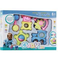 Rp 124.000. Mainan Anak Bayi Baby Toys - Rattle Playset Krincingan Gigitan TeetherIDR124000