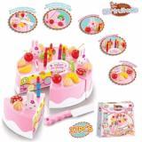 Mainan Anak Cewek Kue Ulang Tahun Diy Fruit Cake 37Pcs Diy Diskon 50